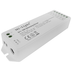 MiLight LS4 LED stmívač RF/0-10V/push 12A